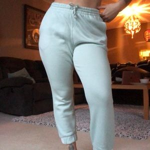 Mint Green Adidas Track-pant Joggers